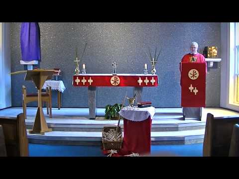 Mass on Palm Sunday 2020 from St Stephen's, Warrington